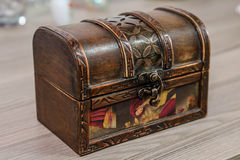 treasure box Stock Image