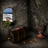 Treasure of the Caribbean Royalty Free Stock Images