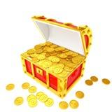 Treasure ches Stock Image