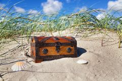 Treasure_chest Stock Afbeeldingen