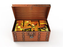 Treasure chest Stock Images