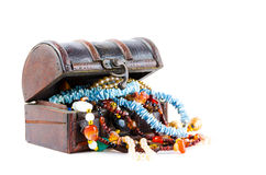 The treasure chest Royalty Free Stock Photography
