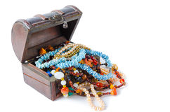 The treasure chest Stock Image
