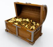 Free Treasure Chest Stock Photography - 24641122