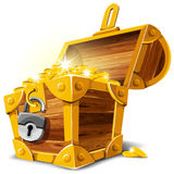 Treasure Chest Royalty Free Stock Photo