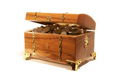 Treasure Chest Stock Photography