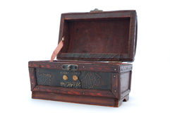 Treasure Chest. On a white background Royalty Free Stock Images
