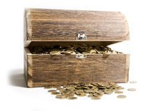Treasure-chest Royalty Free Stock Photo