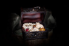 Treasure chest Royalty Free Stock Images