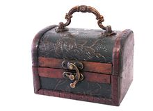 Treasure chest closed Stock Photos