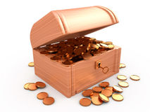 Treasure chest, 3D Stock Photography
