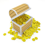 Treasure Chest Royalty Free Stock Photography