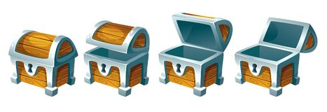 Free Treasure Chest For Animation Royalty Free Stock Photo - 104206345