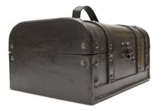 Treasure Chest (Front Side View) Royalty Free Stock Images