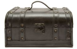 Free Treasure Chest (Front Top View) Royalty Free Stock Photography - 593877