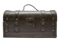 Treasure Chest (Front View) royalty free stock photos