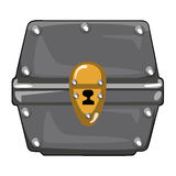 Treasure Chest  illustration Stock Images