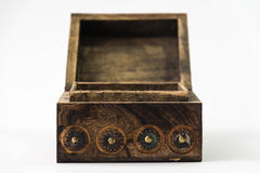 Treasure chest isolated Stock Photos
