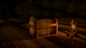 Treasure Chest Opening stock footage