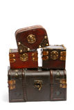 Treasure chests Royalty Free Stock Photography