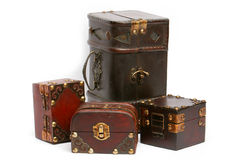Treasure chests Stock Photos