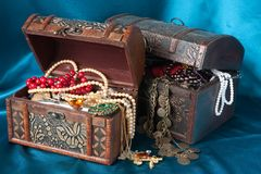 Free Treasure Chests Royalty Free Stock Image - 9239486