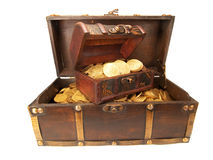 Treasure Chests Royalty Free Stock Image