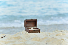 Treasure chests Royalty Free Stock Photo