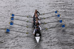 Treasure Coast races in the Head of Charles Regatta Women's Youth Eights Royalty Free Stock Image