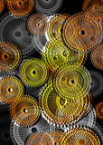 Treasure Coins Background Royalty Free Stock Images