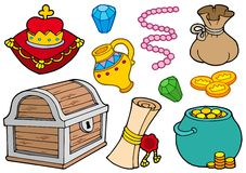 Treasure collection Stock Photography