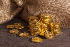 Treasure Doubloons Stock Photos