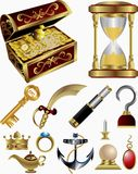 Treasure Fairy Tale Elements Stock Photo