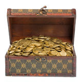 Treasure - front view stock photo
