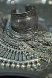 Treasure, heap of Beautiful Oriental Silver Bridal jewelry (Indi Stock Photos