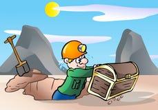 Treasure hunter Royalty Free Stock Photo