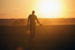 Treasure hunter Stock Image