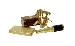 Treasure hunting kit Stock Photos