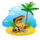 Treasure vector illustration