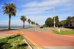 Treasure Island, CA. Seafront of Treasure Island near San Francisco Royalty Free Stock Image