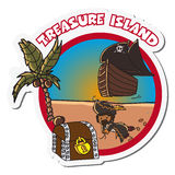 Treasure island Royalty Free Stock Images