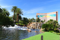 Treasure Island Casino Hotel Resort on the Las Vegas Strip Royalty Free Stock Image