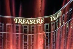 Treasure Island Casino Stock Photography