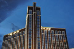 Treasure Island Hotel and Casino in Las Vegas Stock Image