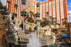 Treasure Island Hotel and Casino in Las Vegas Royalty Free Stock Photo