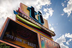 Treasure Island Hotel and Casino Stock Photo