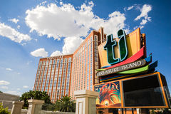Treasure Island Hotel and Casino Stock Images