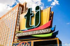 Treasure Island Hotel and Casino Stock Photos