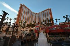 Treasure Island Hotel and Casino, Treasure Island Hotel and Casino, landmark, vehicle, waterway, cityscape Royalty Free Stock Images