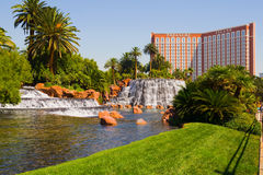 Treasure Island in Las Vegas Stock Photography